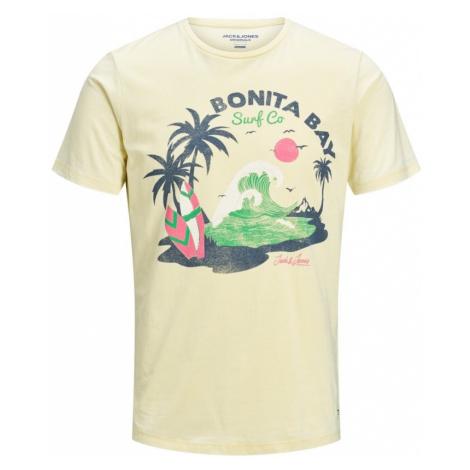 JACK & JONES Koszulka jasnożółty