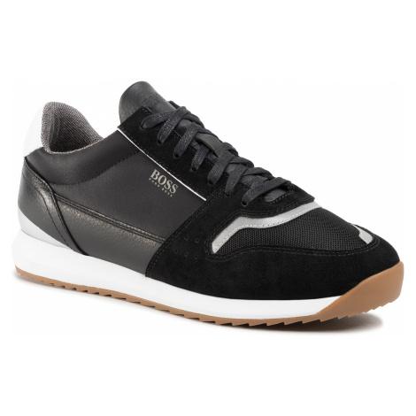 Sneakersy BOSS - Sonic 50428381 10214574 01 Black 001 Hugo Boss