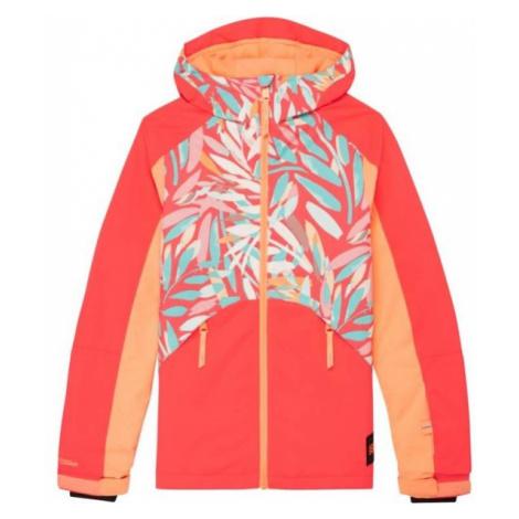 O'Neill PG ALLURE JACKET pomarańczowy 164 - Kurtka narciarska/snowboardowa dziewczęca
