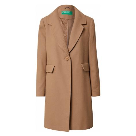 UNITED COLORS OF BENETTON Płaszcz przejściowy brązowy