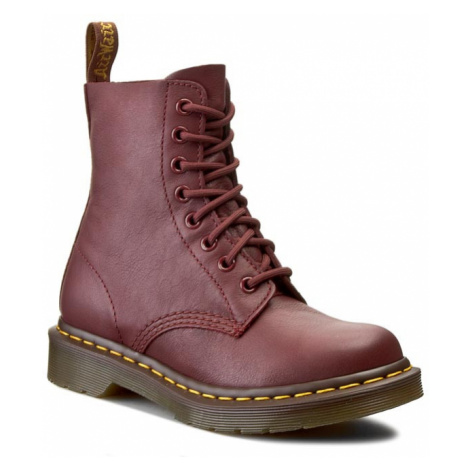 Botki DR. MARTENS - Pascal 13512411 Cherry Red Dr Martens