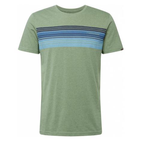 Ragwear Koszulka 'HAKE' oliwkowy / niebieski
