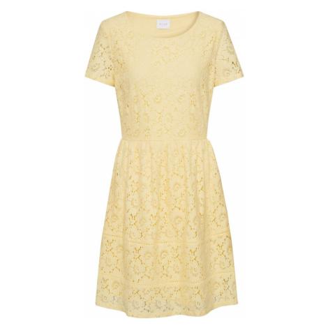 VILA Sukienka koktajlowa 'VISULACEY' żółty