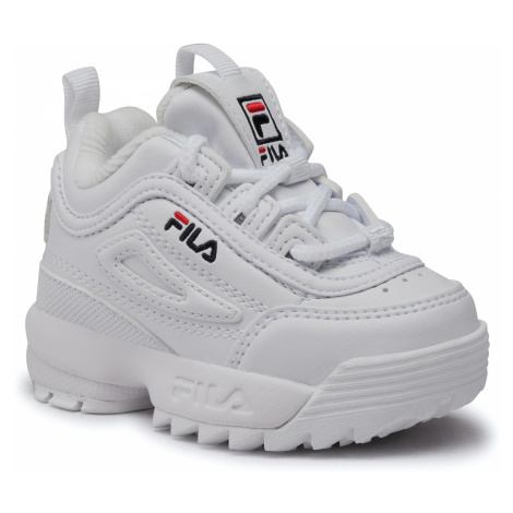Sneakersy FILA - Disruptor F Infants 1010826.1FG White