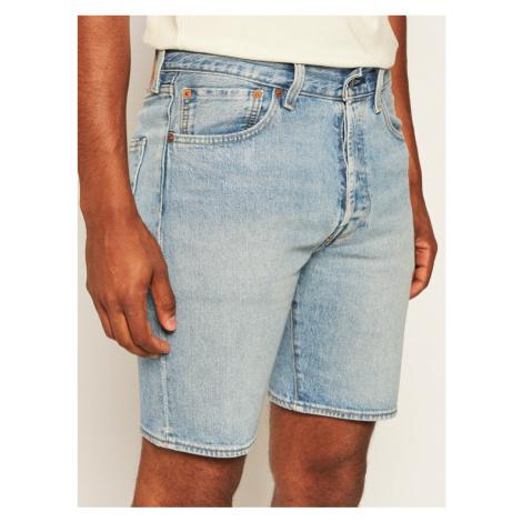 Levi's® Szorty jeansowe 501® Hemmed 36512-0102 Niebieski Regular Fit Levi´s