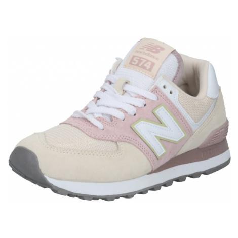 New balance Trampki niskie różowy pudrowy / biały