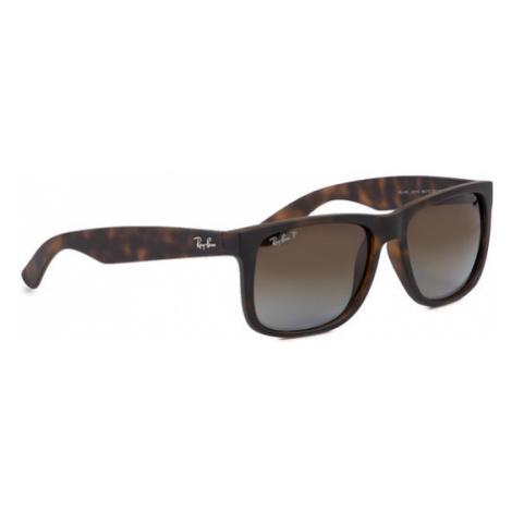 Ray-Ban Okulary przeciwsłoneczne Justin 0RB4165 865/T5 Brązowy