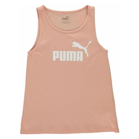 Puma Logo Print Tank Top Junior Girls