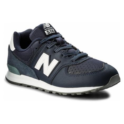 Sneakersy NEW BALANCE - GC574D4 Granatowy