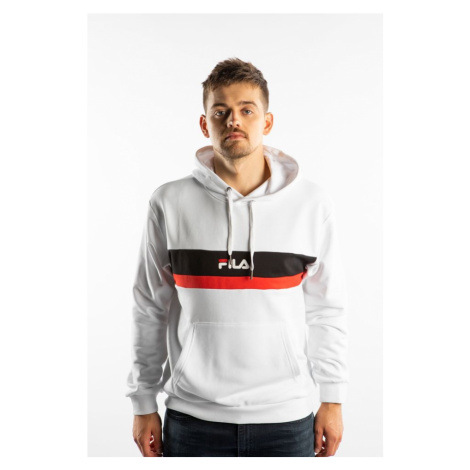 Bluza Fila Radomir Hoody A131 Bright White/true Red/black