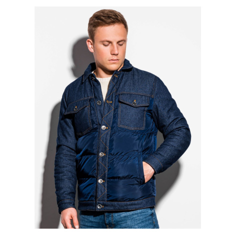 Ombre Clothing Men's mid-season quilted jacket C446