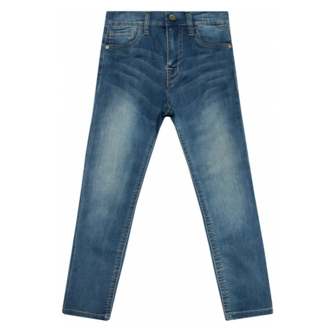 NAME IT Jeansy Theo 13163039 Granatowy Slim Fit