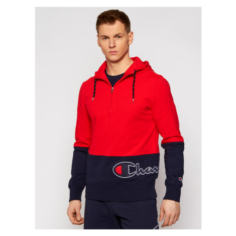 Champion Bluza 214205 Czerwony Comfort Fit