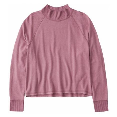 Abercrombie & Fitch Koszulka 'LS COZY CREW TEE' różowy