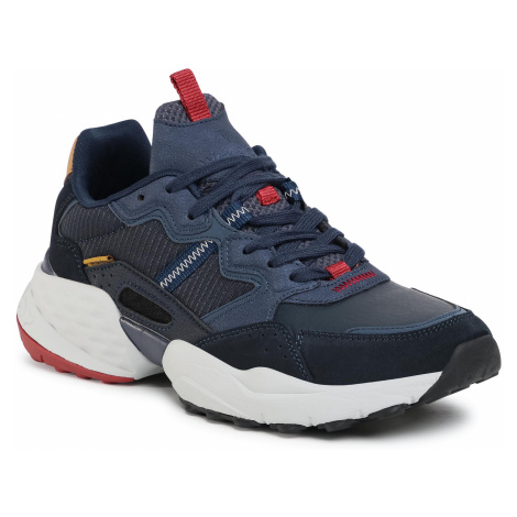 Sneakersy WRANGLER - Iconic 90 WM02070A Navy 016