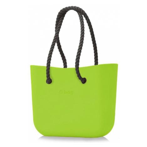 O bag torebka Mela z długimi czarnymi linami