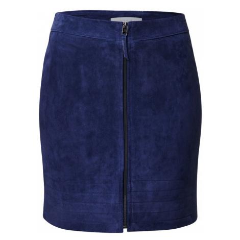 VILA Spódnica niebieski