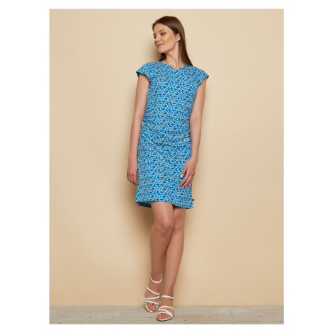 Tranquillo niebieska sukienka Tika