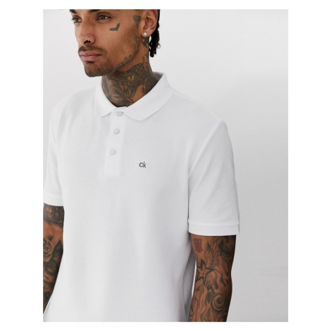 Calvin Klein Golf Vmidtown radical polo in white