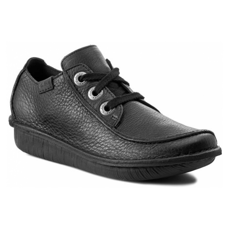 Półbuty CLARKS - Funny Dream 203066394 Black Leather