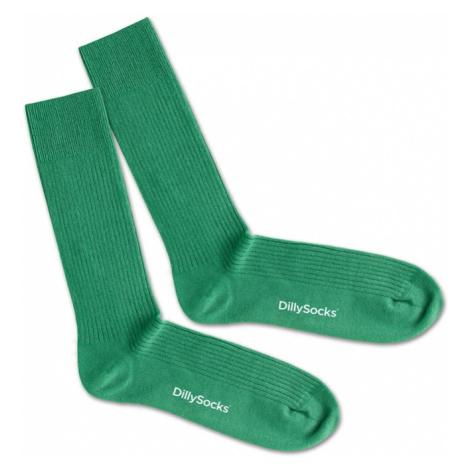 DillySocks Skarpety zielony / biały