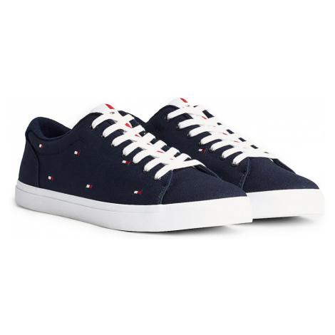 Tommy Hilfiger granatowe trampki męskie Essential Vulc Seasonal Sneaker
