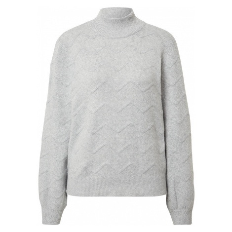 VILA Sweter 'Fulla' jasnoszary