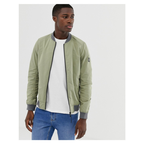 Tom Tailor lightweight bomber in green