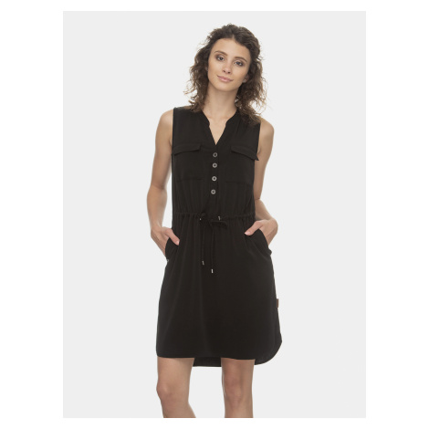 Czarna sukienka Ragwear Roisin