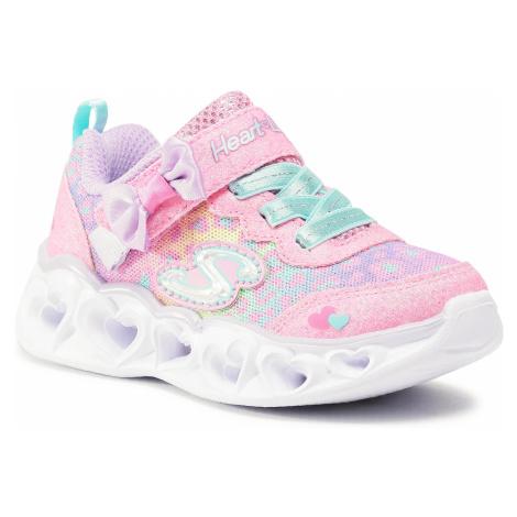 Sneakersy SKECHERS - Untamed Hearts 302088N/HPMT Hot Pink/Multi