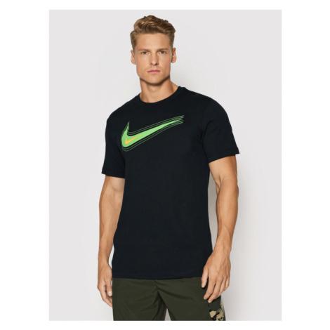 Nike T-Shirt Nsw Swoosh DB6470 Czarny Standard Fit