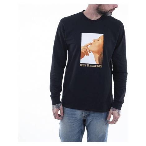 Koszulka męska HUF x Playboy Lust For Life Longsleeve Tee TS01461 BLACK