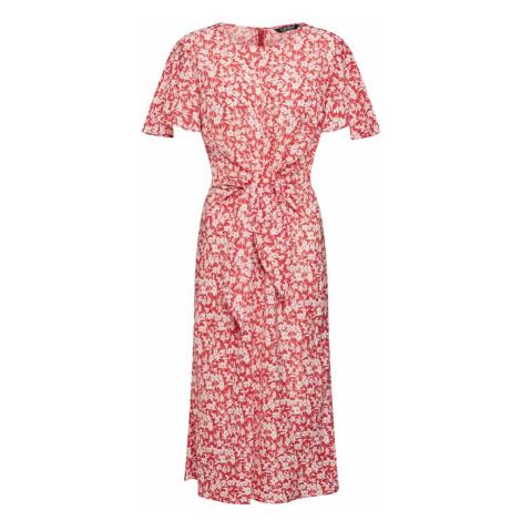 Lauren Ralph Lauren Letnia sukienka 'VANTRICE' czerwony / biały