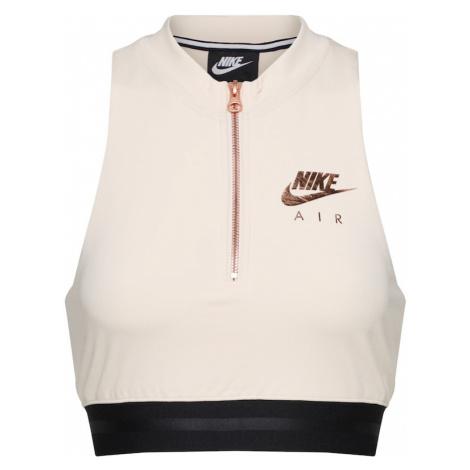 Nike Sportswear Top 'AIR TANK CROP' pudrowy