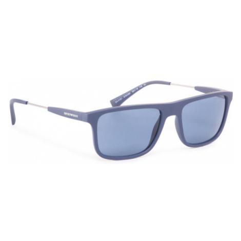 Emporio Armani Okulary przeciwsłoneczne 0EA4151 575480 Granatowy