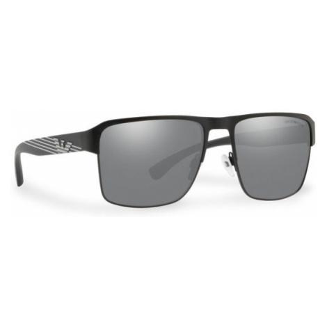Emporio Armani Okulary przeciwsłoneczne 0EA2066 3001Z3 Czarny