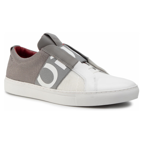 Sneakersy HUGO - Futurism 50407620 10214585 01 Open Grey Hugo Boss