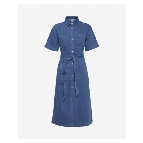 ICHI Mazie Sukienka Niebieski