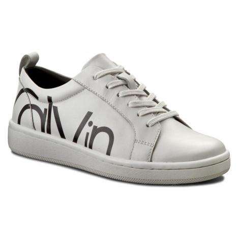 Sneakersy CALVIN KLEIN - Danya E4835 White/Black