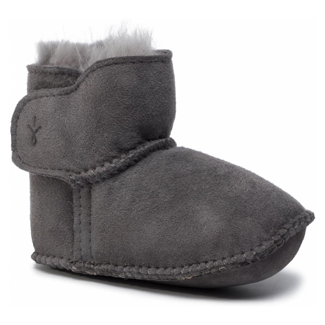 Buty EMU AUSTRALIA - Baby Bootie B10310 Charcoal
