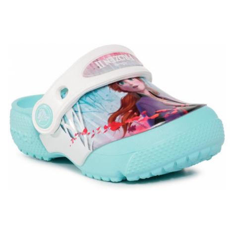 Crocs Klapki Crocsfl Ol Disney Frozen2 Cg K 206167 Niebieski