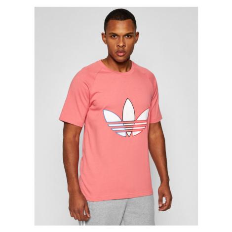 Adidas T-Shirt Tricol Tee GQ8916 Różowy Regular Fit