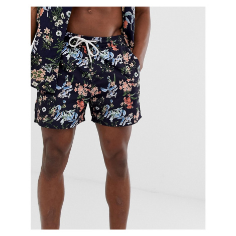 Another Influence co-ord floral print swim shorts