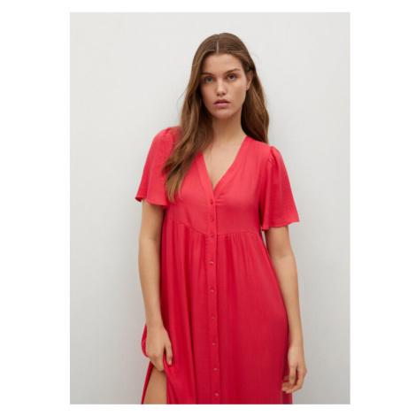 Mango Sukienka codzienna Sugar 87007153 Różowy Regular Fit