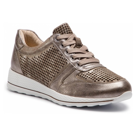 Sneakersy CAPRICE - 9-23704-22 Taupe Comb 345
