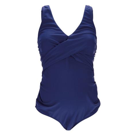 Petit amour Strój kąpielowy 'Aurelia' ciemny niebieski