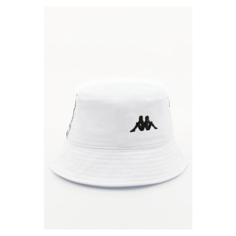 Czapka Kappa Gunther Unisex Bucket Hat 307114-0601 Bright White