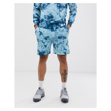 Another Influence tie dye sweat shorts co-ord