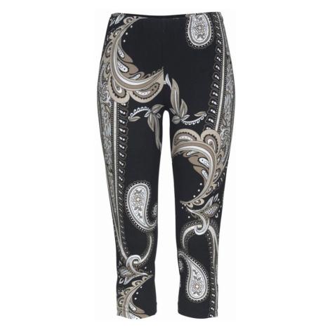 LASCANA Spodnie beżowy / jasny beż / czarny
