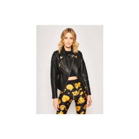 Kurtka skórzana Versace Jeans Couture